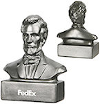 Abraham Lincoln Bust Stress Balls